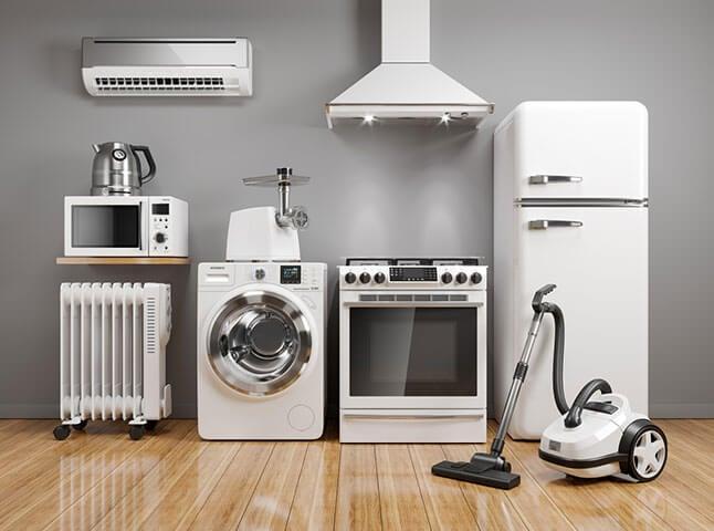 Appliances interest free