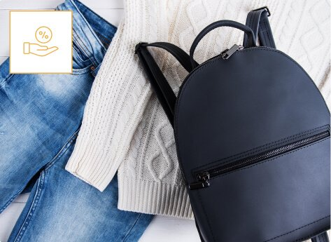 humm90 pair of jeans sweater and backpack get 110 days interest free mob
